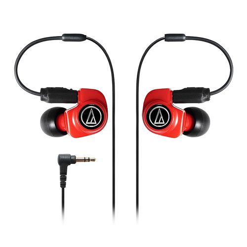铁三角(Audio-technica) ATH-IM70 双动圈单元入耳式监听耳机  可换线耳机