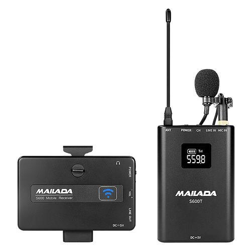 S600 手机单反专业无线移动直播/影视录音麦克风 小蜜蜂无线话筒