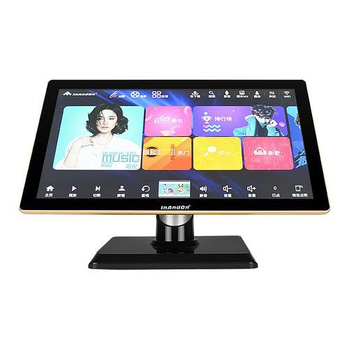 音王(InAndOn) KV-V903 PLUS 家庭KTV一体点歌机 21.5寸台式电容屏 黑金色(3T)