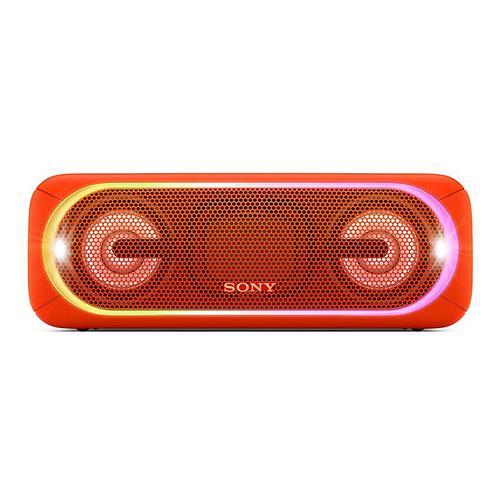 索尼(SONY) SRS-XB40 无线蓝牙音箱 便携式家用户外迷你防水音响 大音量双喇叭超重低音炮【热巴代言】(红色)