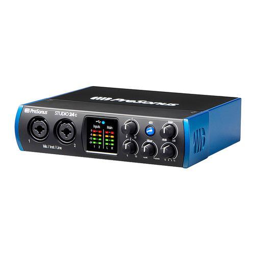 普瑞声纳(Presonus) studio 24C 2进2出USB-C音频接口 专业录音编曲K歌声卡