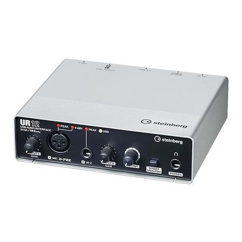 雅马哈(YAMAHA) steinberg UR12 专业录音外置USB声卡(已停产,替换型号:2019新版UR12C)