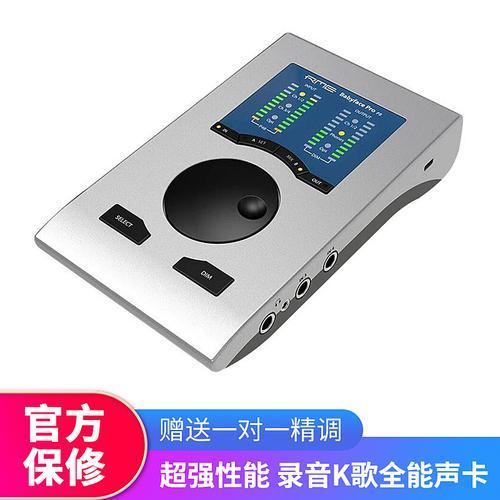 RME 【预售】Babyface Pro FS  专业录音USB外置声卡 娃娃脸高品质主播直播K歌声卡 (Babyface Pro升级版)
