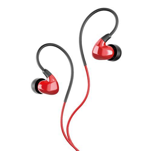 TS-2260 入耳式监听耳机 高保真手机电脑主播直播耳塞(红色)