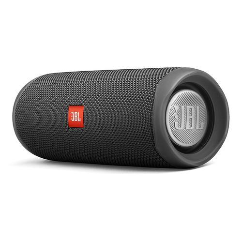 JBL FLIP5 音乐万花筒无线蓝牙音箱 户外便携迷你音响低音增强 (黑色)