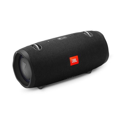 JBL XTREME2 音乐战鼓二代无线蓝牙音箱 户外便携防水音响hifi双重低音 (黑色)