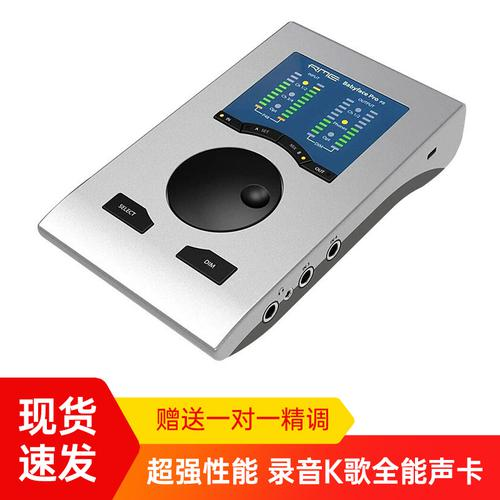RME 【现货速发】Babyface Pro FS  专业录音USB外置声卡 娃娃脸高品质主播直播K歌声卡 (Babyface Pro升级版)