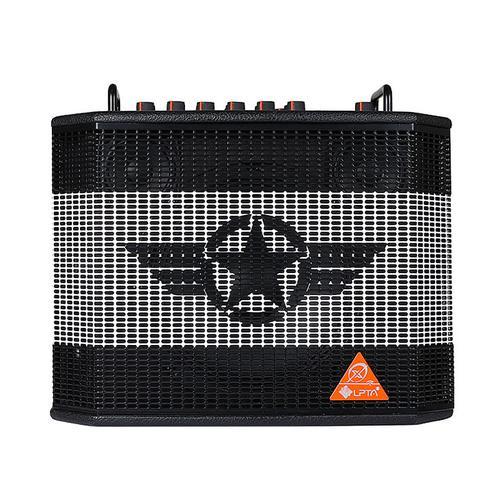 LPTA 魔方 魔3plus X 电箱原声电木吉他音箱 户外便携式蓝牙直播弹唱音响 (五星黑)