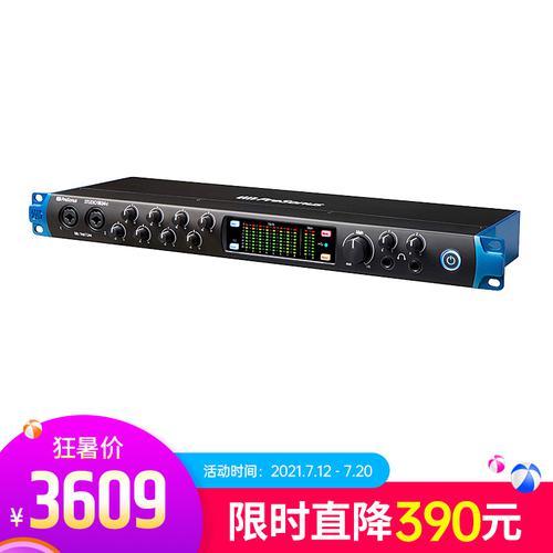 普瑞声纳(Presonus) studio 1824C 模似8进8出USB-C音频接口 专业录音编曲K歌声卡