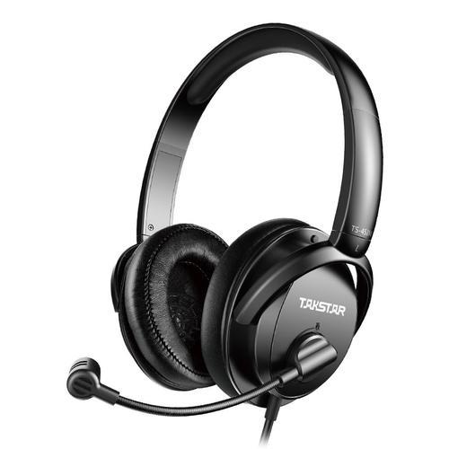 得胜(TAKSTAR) TS-451M USB数字语音耳机 网络教学/线上学习头戴式耳麦
