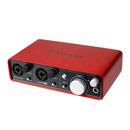 英国品牌 Scarlett 2i2 一代 专业录音外置USB声卡