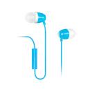H210p 支持手机/单孔笔记本/PAD/MP3 入耳式耳塞 带线控带麦 (蓝色)