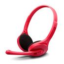K550 入门级时尚 高品质耳麦 电脑耳麦 (红色)