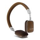 HK SOHO(iphone) 旅行者之选 平折式迷你头戴耳机 超凡脱俗 高品质 (咖啡)