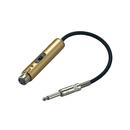 GCB051  6.3单声道转XLR(母卡侬)转换器 长
