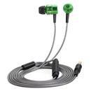 HIFI圈铁入耳式耳塞 手机专用 (抹茶绿)