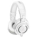 ATH-M50x专业头戴式监听耳机 (白色)