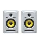 美国品牌Rokit5 G3/RP5G3 5寸有源专业录音室监听音箱(白色一对装)