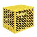 APS-BA202 无线蓝牙蜂巢多媒体立体音箱 便携户外音响 (黄色)
