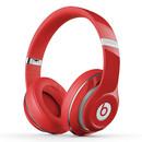 studio Wireless 无线蓝牙录音师耳机 头戴式降噪电脑手机耳机 (红色)