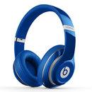 studio Wireless 无线蓝牙录音师耳机 头戴式降噪电脑手机耳机 (蓝色)