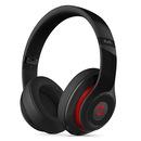 studio Wireless 无线蓝牙录音师耳机 头戴式降噪电脑手机耳机(黑红)