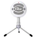snowball-ice专业电容话筒麦克风 K歌录音直播 USB直插麦克风 (白色)