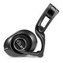 LOLA 高保真HIFI耳机 头戴式专业音乐动圈耳机 降噪线控耳麦 (黑色)