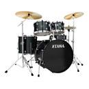 RL52KH6 节奏伴侣架子鼓 带镲片 (黑色)