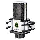 LCT 249 PRO 专业录音电容麦克风 网络K歌主播直播麦克风话筒(白色)