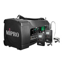 咪宝(MIPRO) MA-100DB 50W便携式无线扩音器 户外移动音箱 会议/广场舞/户外宣传音响(配领夹麦)