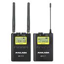 麦拉达(MAILADA) WM9 专业单反手机采访影视/直播录音无线麦克风 小蜜蜂领夹无线话筒
