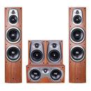 D600 家庭影院音响套装 5.0家用客厅木质HIFI环绕音箱