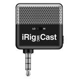 iRig MIC Cast 电容式手机直播K歌麦克风