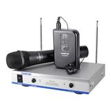TS-3310HP  KTV/演出手持式/领夹式VHF无线动圈麦克风