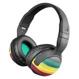 Hesh(碎甲弹) 重低音头戴式耳机 Rasta牙买加