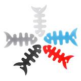 七彩大型鱼骨头耳机绕线器/卷线器/收线器