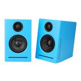 堡视(POECES) POP32 3.0  3寸时尚蓝牙音箱 蓝色(一对装)