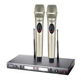得胜(TAKSTAR) TS-8807 KTV/演出手持式无线动圈麦克风(香槟色)