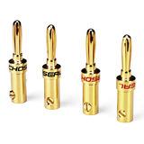Q906 发烧级香蕉头 音箱线插头 喇叭线香蕉头 免焊接(单个)