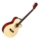红棉(KAPOK) LO-14C 40寸民谣吉他 缺角(原木色)