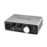 富克斯特(Focusrite) iTrack Solo  专业录音外置USB声卡 2进2出