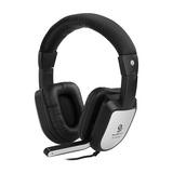 OA-6032MV 头戴式耳麦(黑银)
