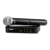 舒尔(SHURE) BLX24/PG58 KTV/演出手持式无线动圈麦克风