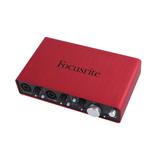 英国品牌 Scarlett 2i4专业录音 一代 USB外置声卡 音频接口