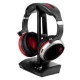 AGH200 2.4G数码头戴式无线耳机  重低音(黑色 )