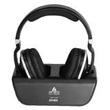 雅天(ARTISTE) ADH300 2.4G 数码 重低音 头戴式无线耳机(黑色)