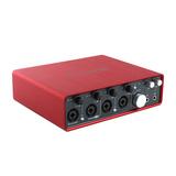 Scarlett 18i8 一代 专业录音外置USB 声卡 18进18出