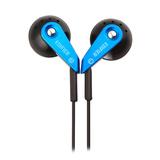 H185 低频出色 重低音时尚炫彩 立体声耳塞 (蓝色)