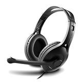 K800 高品质电脑耳麦 游戏耳机 带线控带麦 (黑色)